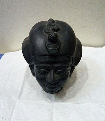 RARE ANCIENT EGYPTIAN ANTIQUE Head of Osiris 1900-1720 BC