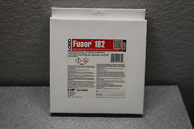 """Lord Fusor 182 Clear Double-Sided High Bond Professional Tape 1/4"""" x .045"""" x 60'"""