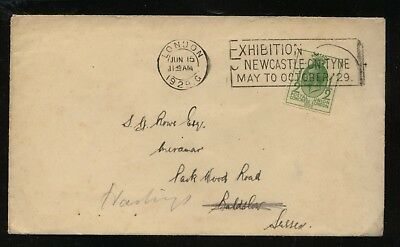 Great  Britain  205  on  special cancel cover           MS0204