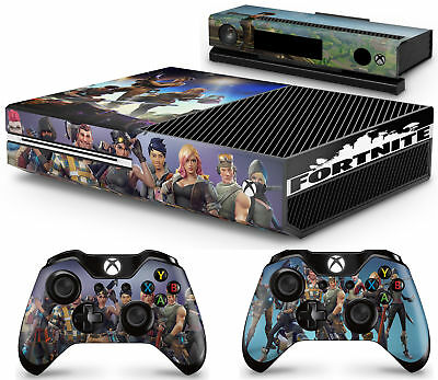 Xbox Fortnite Console Skin Decal Sticker 2 Xbox One Controller