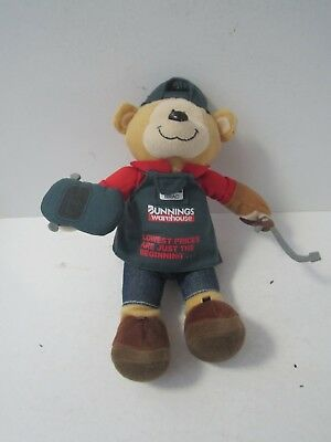 Bunnings Bear BRAD the Welder Collectable Character Plush Soft Toy