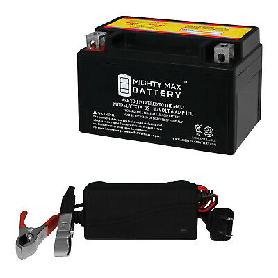 Mighty Max 12V 8AH SLA Battery Replaces Crown Embassy 12CE7.5 12V 1Amp Charger