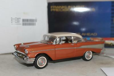 Franklin Mint Precision 1957 Chevrolet Bel 1:24 Diecast Limited Ed 1060/2500 New
