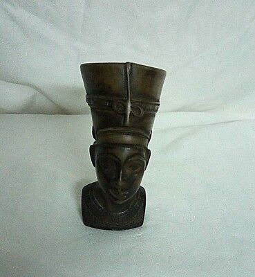RARE ANCIENT EGYPTIAN ANTIQUE NEFERTITI, HEAD of Nefertiti Stone (1370 -1330) BC
