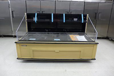 """NEW Hussmann Q3-SS-6S 77"""" Self Contained Meat Deli Produce Refrigerator Cooler"""