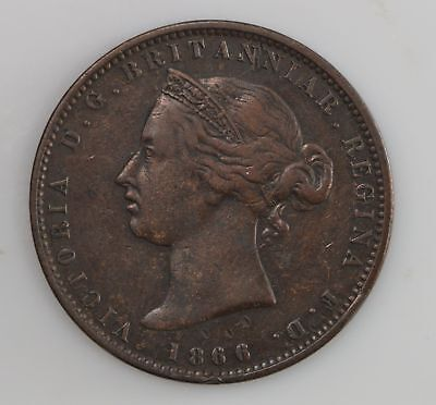 1866 Jersey 1/13 Shilling Queen Victoria *289