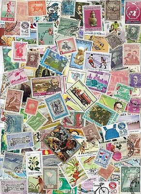 Latin America - Nice  Collection of 100 different Stamps..........Br - D 8613