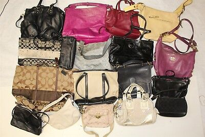 Coach Collection Wholesale Purse Lot USED Bulk Rehab Resale DfHh