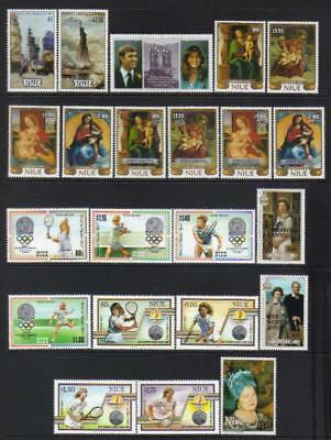 Niue 1986-1990 Mh Selection Cat £80+