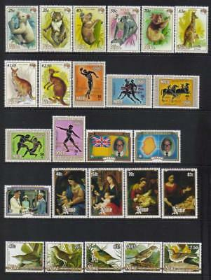 Niue 1984-1985 Mh Selection Cat £39+