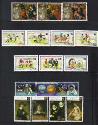 Niue 1987-1990 Used Selection Cat £42+