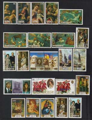 Niue 1985-1987 Used Selection Cat £64+