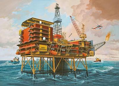 Revell 08803 Off-Shore Oilrig North Cormorant Neu OVP *