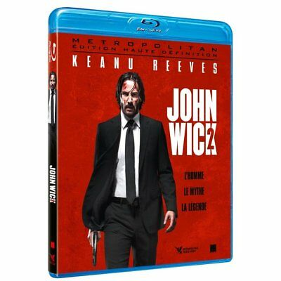Blu-ray - John Wick 2 - Keanu Reeves, Common, Claudia Gerini, Laurence Fishburne