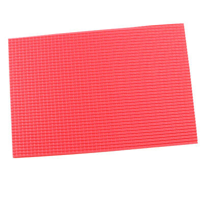 1:30 Scale Roof Tile Sheet Building Sand Table Model Making Materials Red