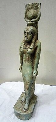 RARE ANCIENT EGYPTIAN ANTIQUE ISIS Statue Old Kingdom 2686-2181 BC