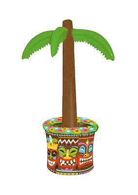 Inflatable Palm Tree Drink/Beer Cooler 66cm - Hawaiian Beach Pool Party Decor