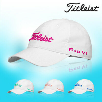 Titleist Womens Tour Performance Golf Cap Hat TH8AWTPK-9 Sports Mens Gift Auth