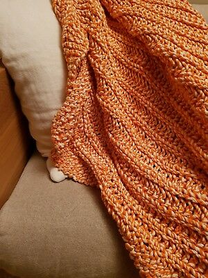 Country Road 100% Cotton Throw Rug Blanket Cover RRP $350