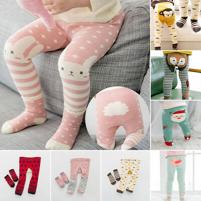 Baby Boys Cotton Tights-Toddler Winter Warm Anti Slip Leggings Pants 6-24 Month