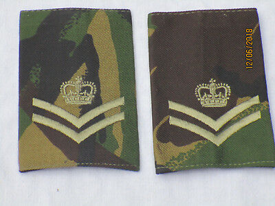 Corporal of Horse, Guards Rank, rank slides, DPM, NSN: 8455-99-869-4000