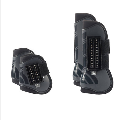 NEW Horze Advanced ProTec Boot Set Leg Protection Horse Riding Care Grooming
