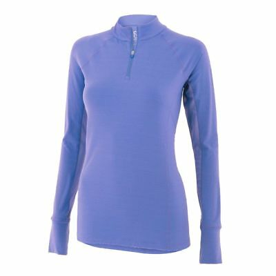 Noble Outfitters Ashley Performance Long Sleeve Shirt - Periwinkle