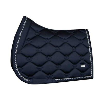 PS of Sweden Monogram Aruba Blue Jump Saddle Pad