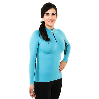 Noble Outfitters Ashley Performance Long Sleeve Shirt - Duchess Blue