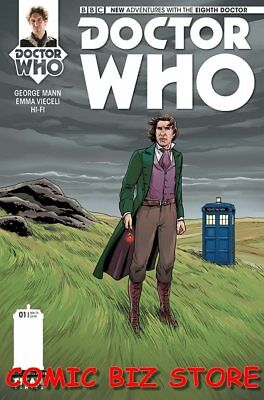 Doctor Who The Eighth Doctor #1 (2015) 1St Print 1:10 Pleece Variant Cover Titan