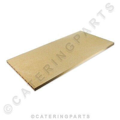 CUPPONE 91610055 RIDGED REFRACTORY STONE 700x350x19mm BAKING PIZZA OVEN 16+3