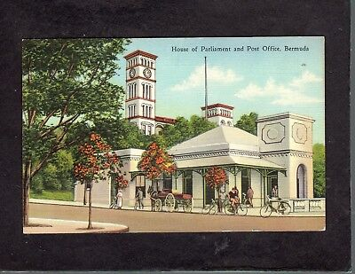 House of Parliament Bermuda postcard