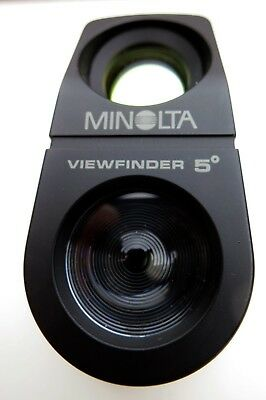 Minolta Spotmeter (5 degree) and Reflected Attachment - Excellent condition