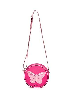 GUESS Factory Girl's Pink Butterfly Crossbody