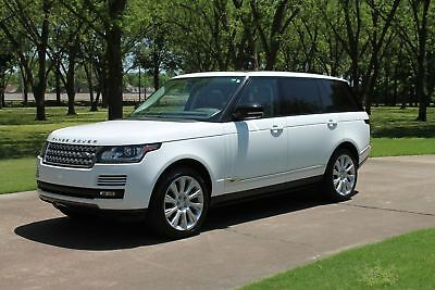 Land Rover Range Rover V8 Supercharged LWB V8 Supercharged LWB  1 Owner One Owner Perfect Carfax V8 LWB Perfect Condition Low Miles MSRP New $111775
