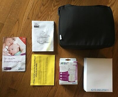 Brand New - Damaged Box - Philips AVENT Double Electric Breast Pump SCF334/16