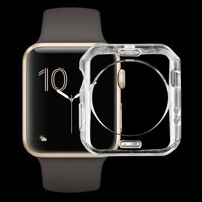 Apple Watch Series 3,2,1 (38mm) Case Ultra Thin Protective Clear Soft Gel Cover