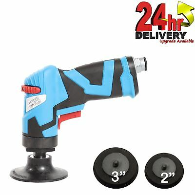 "Duren 75mm Air Operated Angle Sander With 2"" & 3"" Roll On Backing Pads"