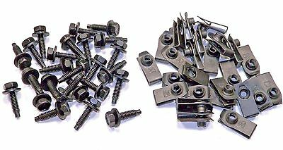 Mopar 1/4 Body Bolts & Clips (50 Pcs) (Kit 675-864) #1605