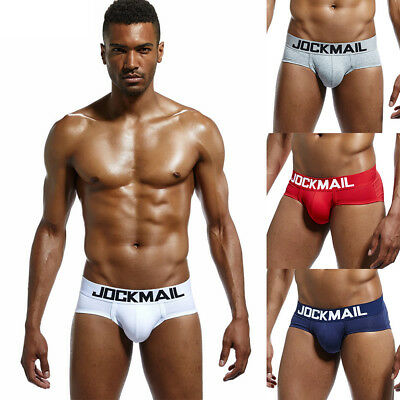 Mens Bulge Underwear Boxer Cotton Breathable Shorts Sexy Soft Low Waist Briefs