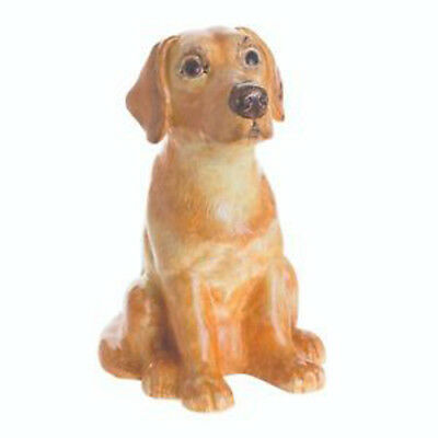 John Beswick, Golden  Labrador Dog, Money Box Bank, NEW, (JBMBA7)