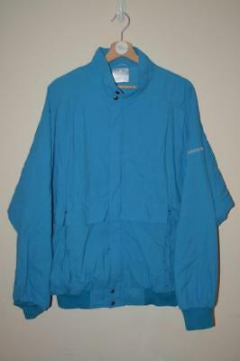a4ce0fea1fee Vintage Blue Adidas Spellout Shellsuit Ski Style Tracksuit Jacket Coat Uk Xl
