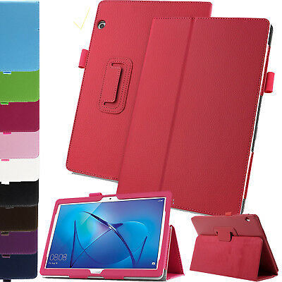 Leather Smart Slim Folio Flip Stand Case Cover For Huawei Mediapad T3 10 2017 UK