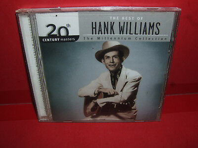 20th Century Masters-The Millennium Collection: Best of Hank Williams - CD