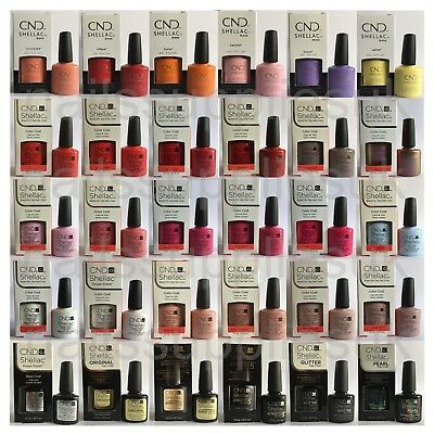 CND Shellac UV Nail Polish Choose from 144+ Colours Nude, Chic & Boho Collection