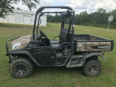 2015 Kubota RTV-1120D Camo (Clean w/LOW Hours)