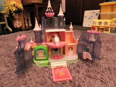 Vintage Disney Cinderella Castle.Polly Pocket style