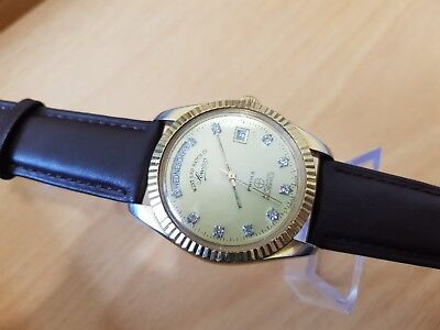 Vintage Men's west end watch Automatic Watch Dial, Date.
