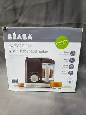Beaba Babycook Pro Baby Food Maker and Steamer - Latte/Mint (VD307)