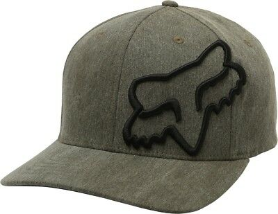 pretty nice afb08 9d425 Fox Racing Clouded Mens Flexfit Hat Heather Green